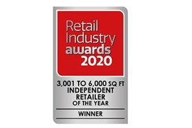 Independent Retailer of the Year 3,000sq ft to 6,000sq ft